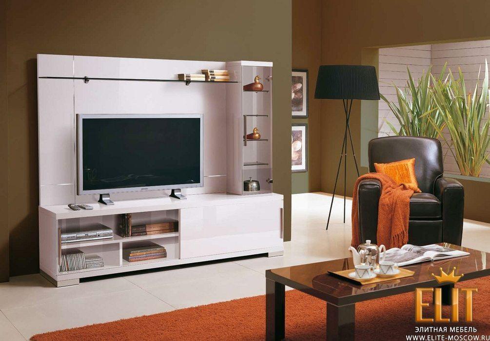 Дизайн стенки для телевизора