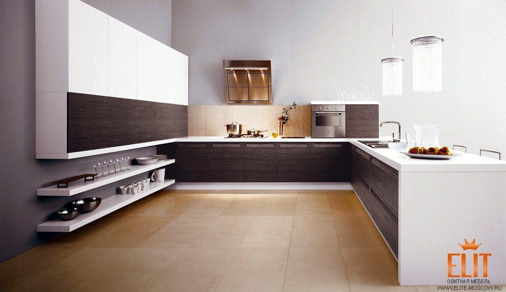 Стильные кухни минимализм