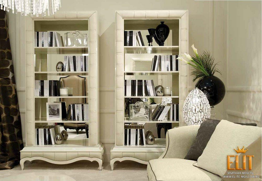 Домашняя библиотека может быть по-настоящему уютной и удобно.